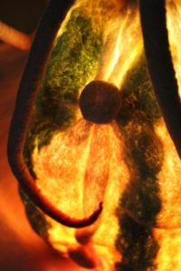 Ananelone leuchtet Detail 2
