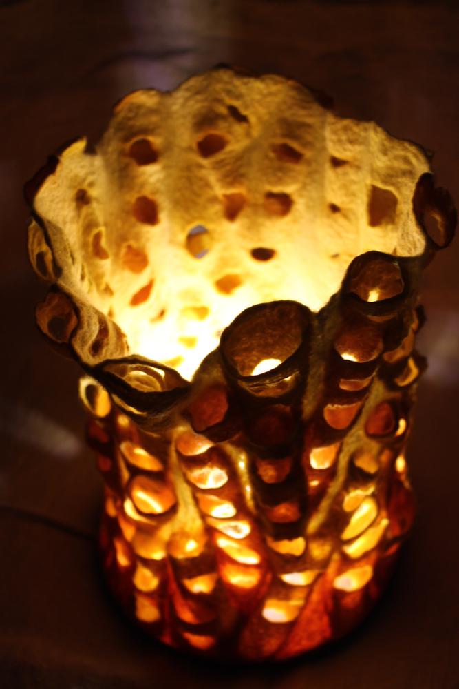 Koralleninsel leuchtet